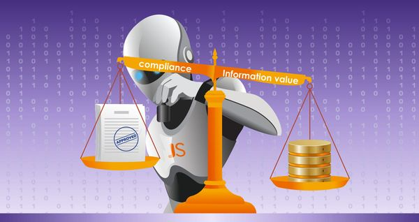 Keep the balance: information value and compliance